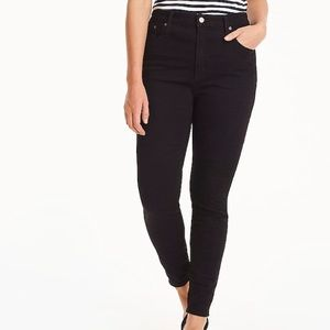 J crew true black curvy toothpick jeans j8248